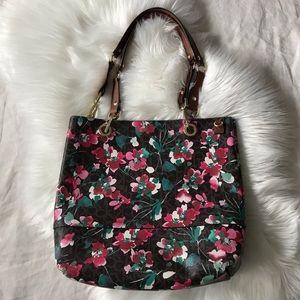 Coach // Floral Shoulder Bag